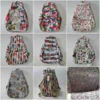 Tas Cath Kids ton Bag Ransel Sekolah Backpack Ck303 Dove Variasi Motif