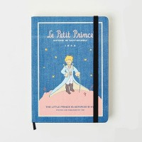Little Prince Blue Manteau Hardcover Planner (Buku Tulis / Jurnal)
