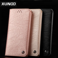Jual [Premium]Xundd Gentleman Leather Case Wallet for Samsung S8 & S8 Plus Murah