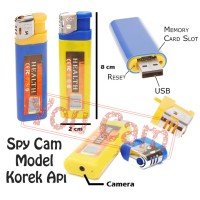 Spy Cam Camera Hidden Pengintai Korek Api / Lighter