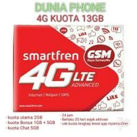 Jual Perdana GSM Smartfren 4G lte 13GB Murah