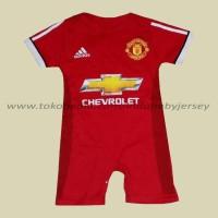 Jual Jumper Baby Baju Bola Bayi Jersey Manchester United *HOME* Murah