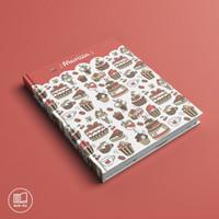 Buku / Notebook Custom Cover Free Desain Agenda (Planner model)