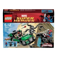 Lego 76004 Super Heroes - Spiderman: Spider Cycle Chase