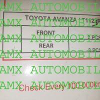 Per Keong ukuran standard merk APM Toyota New Avanza/Xenia 2012+ blkg
