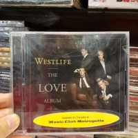 CD WESTLIFE - THE LOVE ALBUM