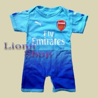 Jual Baby Jumper / Baju Bola Bayi Cowok Arsenal Away Murah