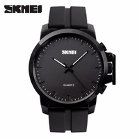 SKMEI Watch 1208 Rubber Strap Original Water Resist 30M - Black Super
