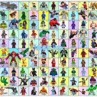 Ular Tangga Gambar Karakter Lego