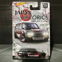Hot Wheels Datsun Bluebird 510 Wagon Japan Historic Ban Karet