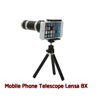 Universal Tele Zoom Lens for Smartphone Android iPhone + Tripod