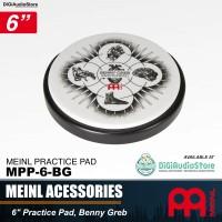 "Meinl MPP-6-BG 6 inch masterpad Benny Greb Practice Pad / Drum Pad 6"""