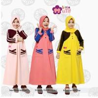 Jual Baju Muslim Anak Perempuan Online, Baju Anak Perempuan Branded On