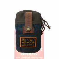 Tas Pinggang Hp -Dompet Handphone - Eiger 0130 -Olive