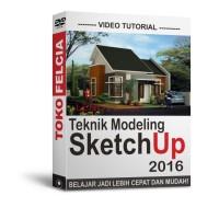 Best Video Tutorial Belajar Sketchup 2016 Teknik Modeling