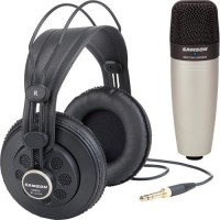 Samson C01/SR850 - Condenser Mic / Headphones Bundle ORIGINAL
