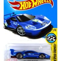 2016 Ford GT Race BIRU / BLUE - Hot Wheels HW Hotwheels