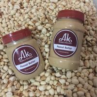 Jual Atsha's Kitchen natural peanut butter/ selai kacang natural/ organik Murah