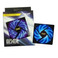 Fan Case PC 120mm Armageddon Azure Blade (BIRU) / Kipas casing PC