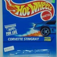 Diecast Hot Wheels Hotwheels Hotweels Mobil corvette stingray white