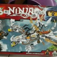 MAINAN BRICK/LEGO BONGKAR PASANG NINJA