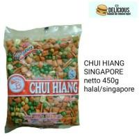 CHUI HIANG SINGAPORE MIXED NUTS KACANG CAMPUR 450G