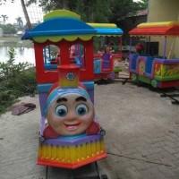 Kereta Mini (Odong-Odong) Rel Pasar Malam 1 Loko 2 Gerbong