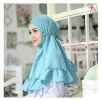 harga Jilbab Kerudung Hijab Instan Khimar Rubiah Aisyah Kcb Rempel Ruffel Tokopedia.com