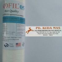 Jual Cartridge/Refill Filter Air/Water Filter Sediment Indfil 10