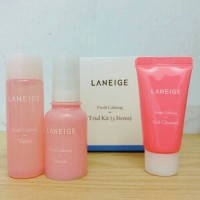 Jual Laneige - Fresh Calming Morning Routine Set (Trial Kit 3 items) Murah