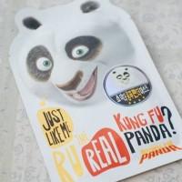 Jual Masker Karakter Wajah Kung Fu Panda ORIGINAL Dreamworks Olive Young Murah