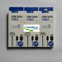Super Q Kabel Data Samsung Galaxy Tab 1 / 2 / 7 / 8.9 / 10.1 2 Meter