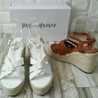 White Wedges YSL Tribute Import
