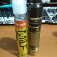 Jual paket ngebul av m1p5, rda goon LP, batre samsung 25r, liquid MILF Murah