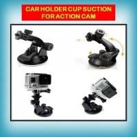 Jual Holder Mobil Cup Car suction for action cam xiaomi yi gopro brica sjca Murah