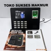 Mesin Absensi FingerPrint Sidik Jari Magic SSR 800