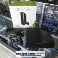 XBOX 360 Slim Console 250GB RGH - Black (Full Game) - Two Controllers