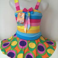 Baju Renang Anak Perempuan - Model Tali Corak
