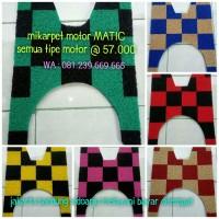 Karpet Mi Motor HONDA BEAT ( Semua Type ) - Warna MOTIF