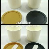 PAPER CUP/GELAS ICE CREAM 4OZ+TTP+SENDOK