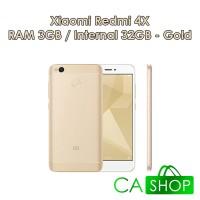Xiaomi Redmi 4X Prime 3/32 - Gold - Baru NEW - GRS Distributor
