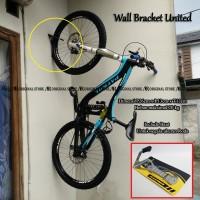 Wall Bracket United Hanger Bike Gantungan Tembok Sepeda MTB Dinding