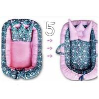 kasur bayi / baby nest motif rabbit  / babynest / tempat tidur bayi
