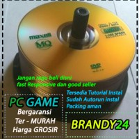 Jual DVD RITEK   MAXELL   PC GAME   KASET GAME   MURAH Murah