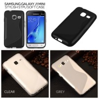 Samsung Galaxy J1 Mini -Stylish TPU Soft Case Casing Silikon Sarung Hp