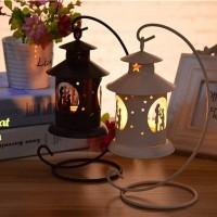 Tempat Lilin Model Gantung ROMANTIC (1 set dengan gantungan)