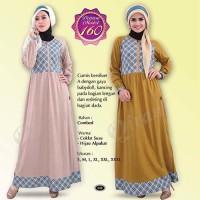 Qirani Dewasa Melati 160 | Baju Perempuan Wanita Muslim Gamis Dress