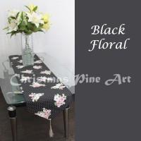 Jual Shabby chic / vintage table runner /  taplak meja floral / bunga  Murah