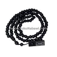 Jual Tasbih Kayu 99 Butir Per Kodi/Souvenir Oleh Oleh Haji dan Umroh Murah Murah