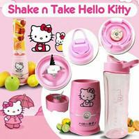Jual HOT SALE [2cup] shake and take generasi 4 HELLOKITTY 2 tabung gelas HK Murah